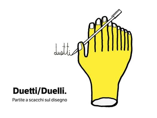 Duetti/Duelli. Partite a scacchi sul disegno