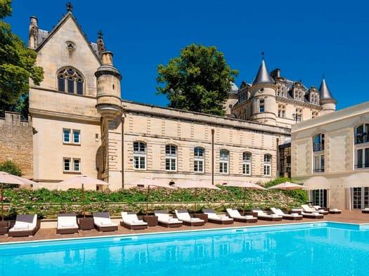Rubinetterie Stella per l'hotel Chateau de Mirambeau