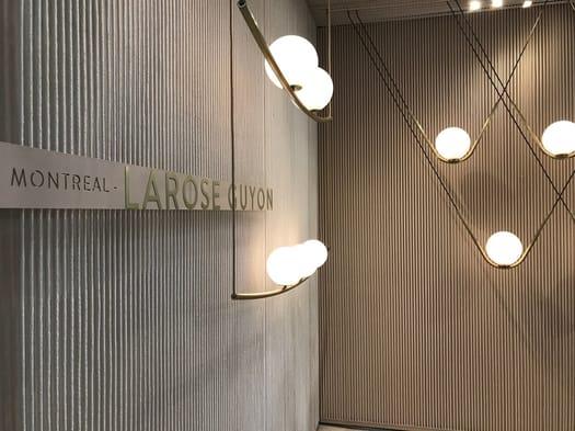 Le sculture luminose di Larose Guyon