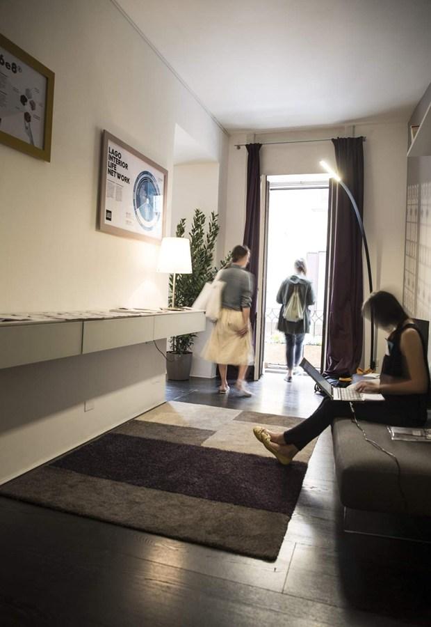 Design come sistema la visione olistica di lago for Appartamento lago milano