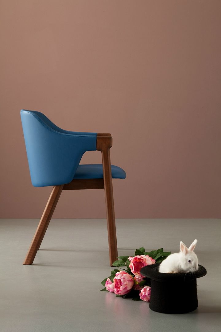 Very Wood chairs designed by LucidiPevere