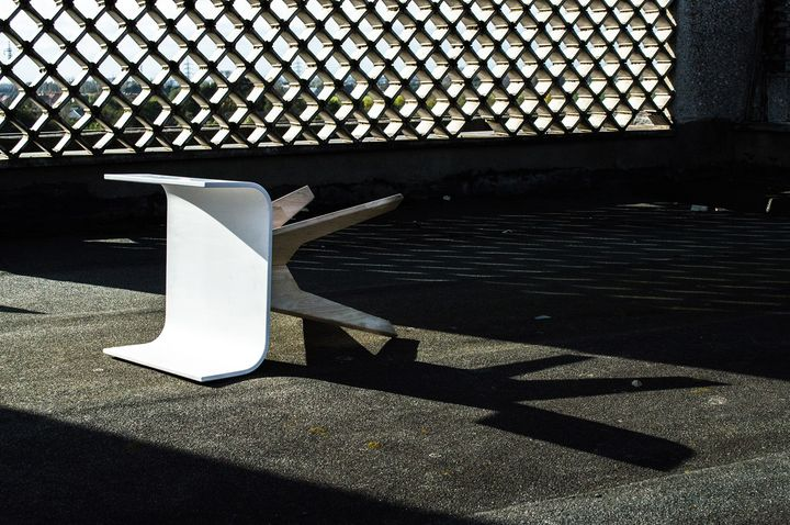 Tabouret + Stool + HI-MACS® + creativity = Taboustool