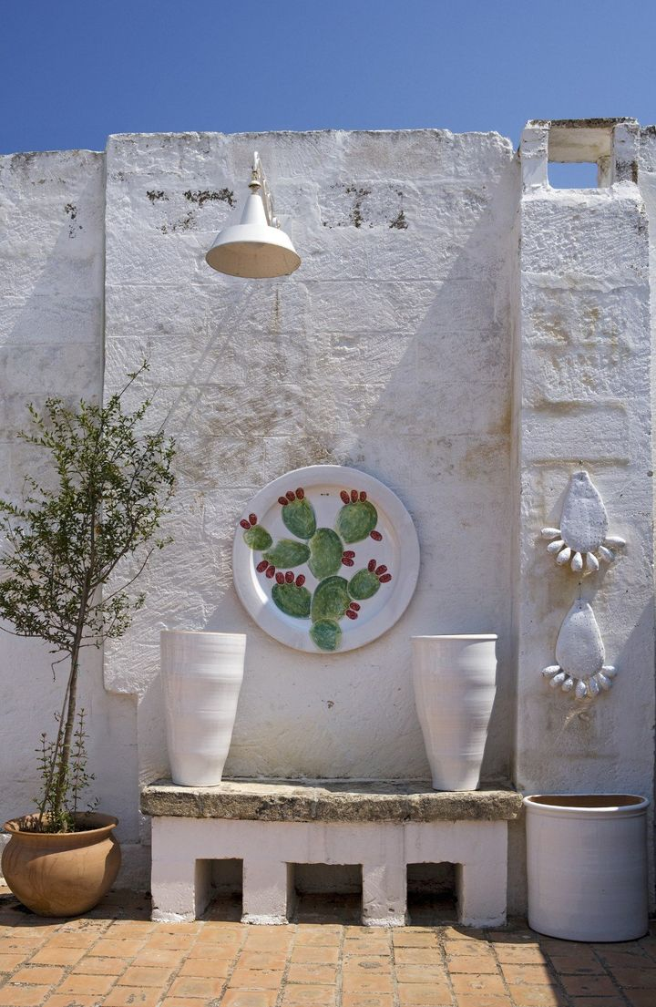 Ceramica una passione la puglia di enza fasano - Arte bagno taranto ...