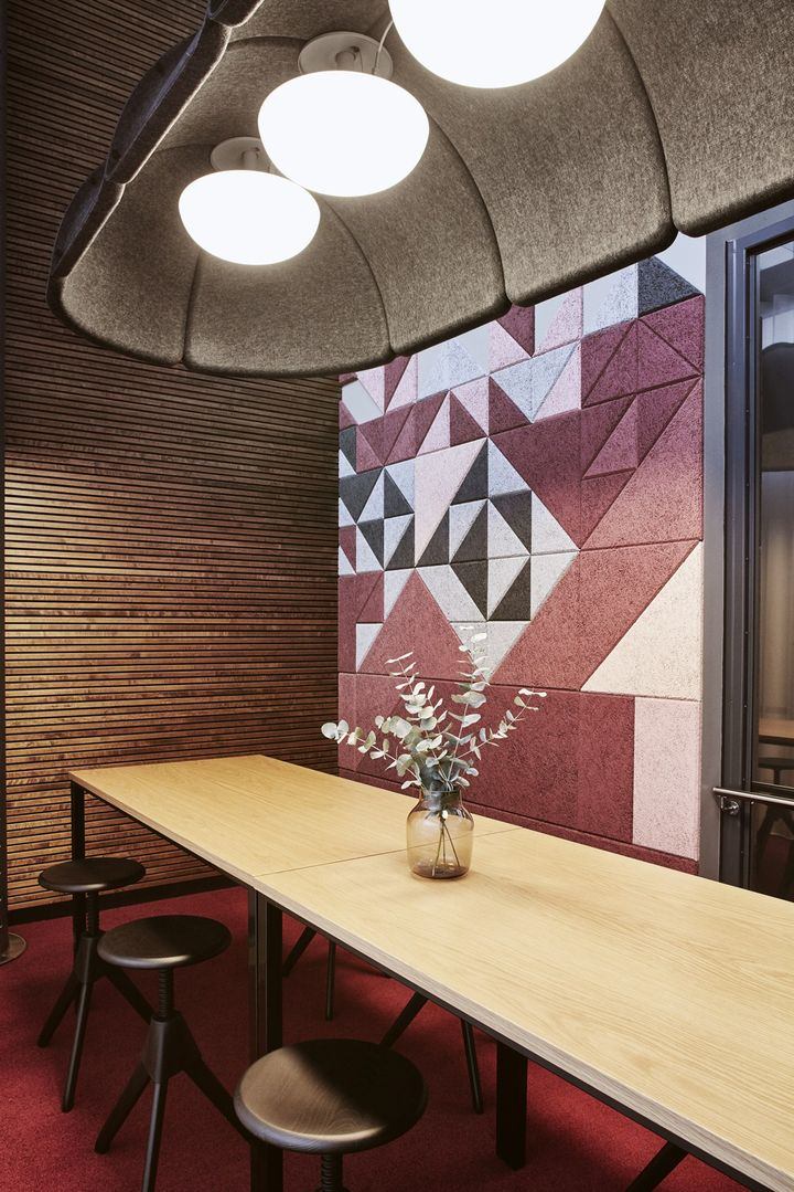 Colours and composite shapes mean unique designs for unique spaces