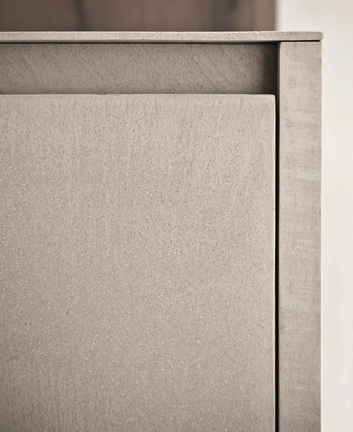 Line K. Urban look con la resina di cemento