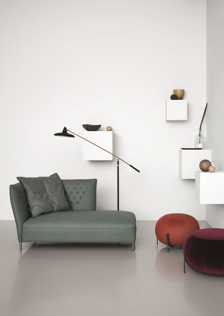 Saba Italia presents Quilt, the new line of seating designed by Sergio Bicego