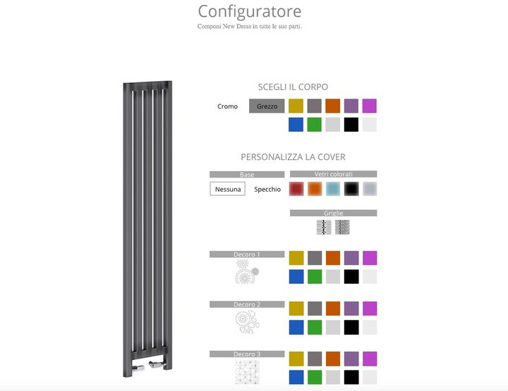 Scirocco H presents the first 3D configurator for radiators