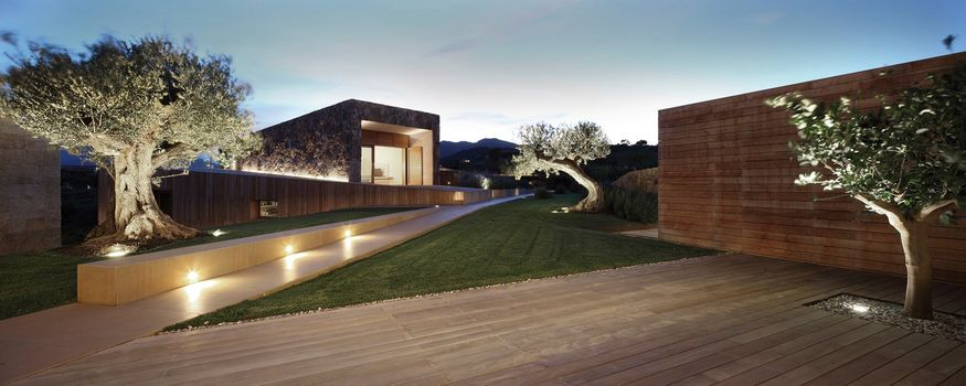 Platek Light at Villa in San Teodoro by Altromodo Architects