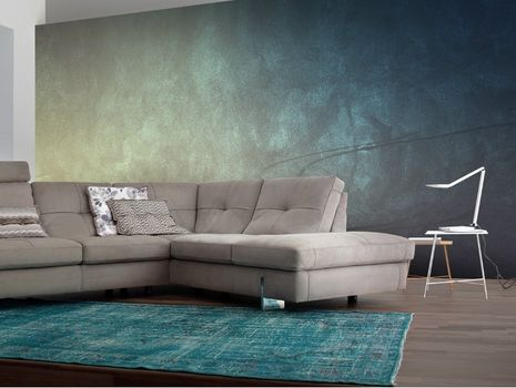 new sofas by calia italia at imm cologne. Black Bedroom Furniture Sets. Home Design Ideas