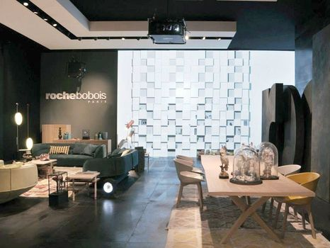 roche bobois new collection presented in milan. Black Bedroom Furniture Sets. Home Design Ideas
