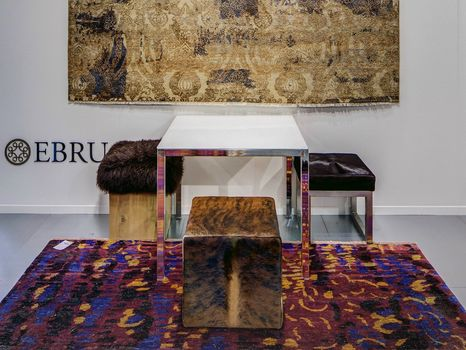 Ebru presents its new carpet collections
