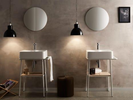 Scarabeo Ceramiche presents Fuji and Bucket