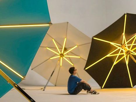 NI Parasol: a new outdoor experience