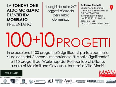 '100+10 progetti'. Dal 20 novembre 2015 al 28 febbraio a Sanguinetto - image q_48962_01 on http://www.designedoo.it