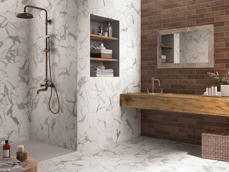 New porcelain stoneware wall and floor tiles by Ceramiche Keope