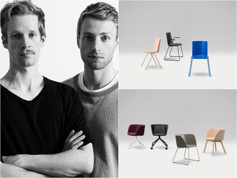 New Fredericia seats designed by young team Geckeler Michels
