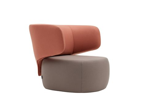 The armchair and sofa by Softline