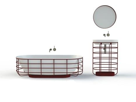 Nuove vasche e docce in acciaio smaltato e la collaborazione con lo studio Aisslinger
