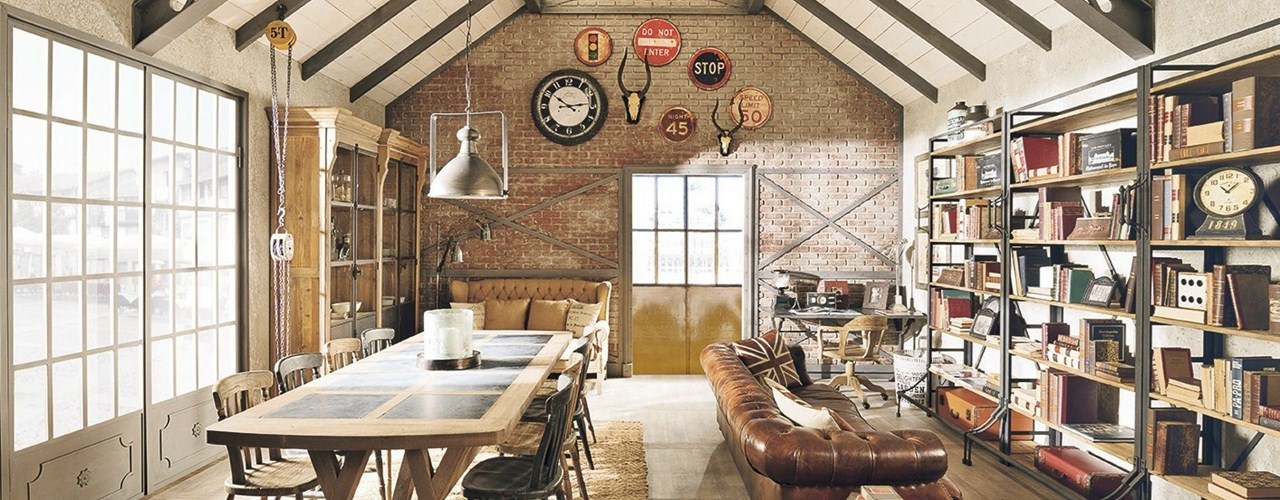 Shabby Chic, Vintage, Industrial style