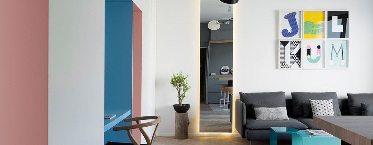 10 tips for decorating a bare wall - Mensola porta modem ...