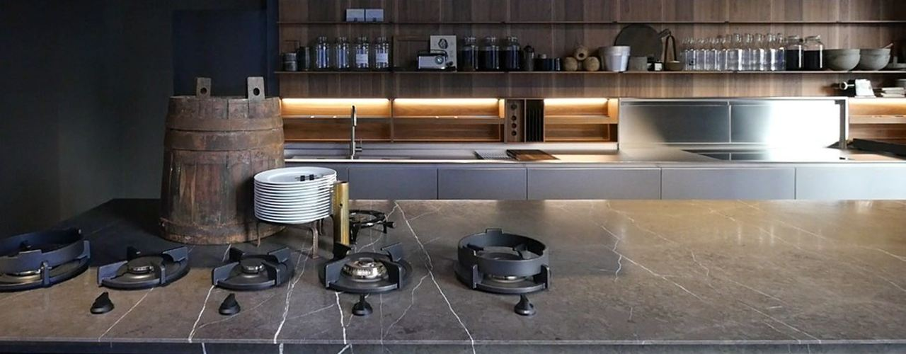 Lissoni Materials Dress A Bespoke Kitchen