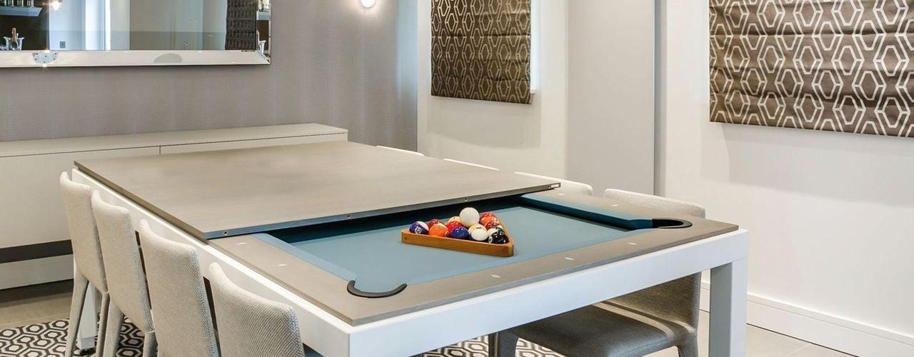 Tavolo da pranzo o tavolo da biliardo fusiontables - Tavolo da biliardo trasformabile in tavolo da pranzo ...