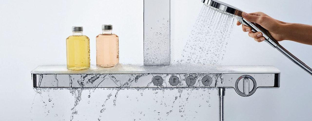 Temperatura pre-impostata per la doccia sicura