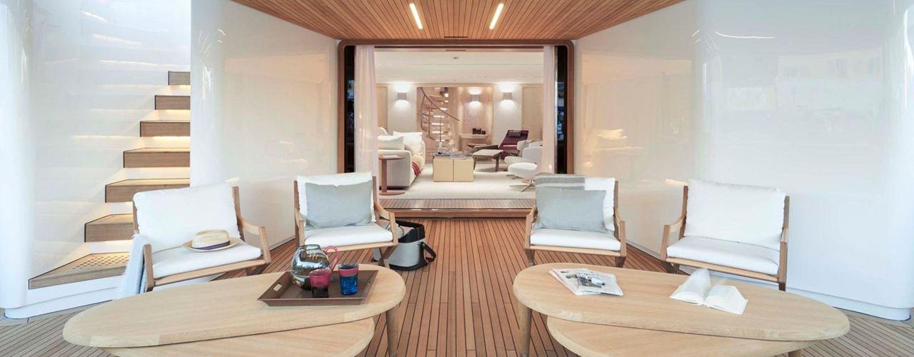 Axor sale a bordo del primo yacht firmato antonio citterio for Antonio citterio architetto