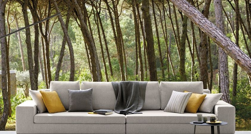 Comfort and customizing for outdoor spaces