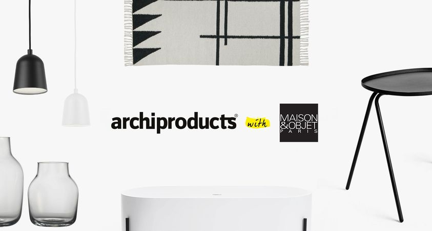 Archiproducts withMAISON&OBJET: Happy Partnership 2015!