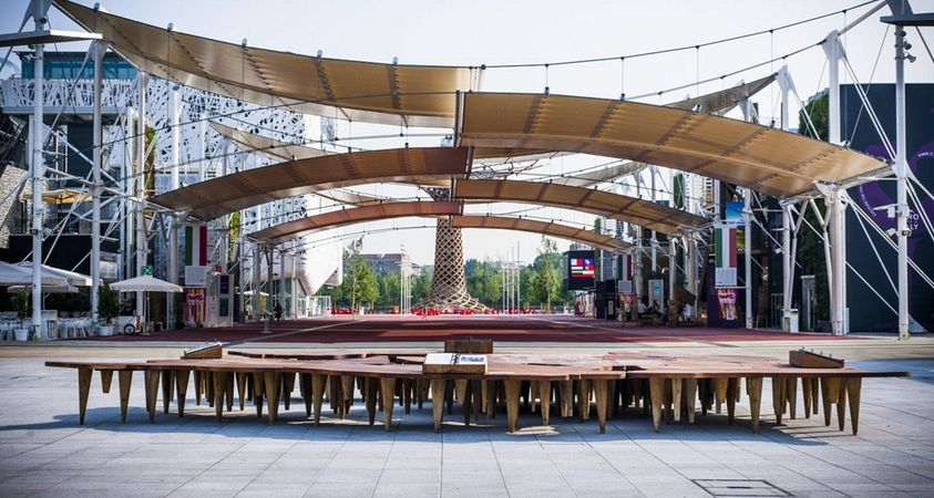 Riva 1920 in the heart of Expo 2015