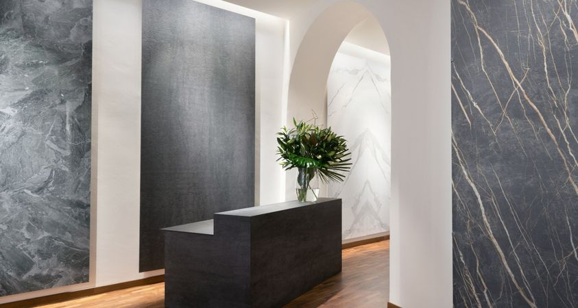 Laminam opens a new showroom in Milan