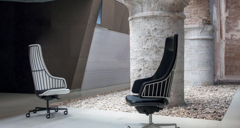 New Luxy seatings for contract e workspaces