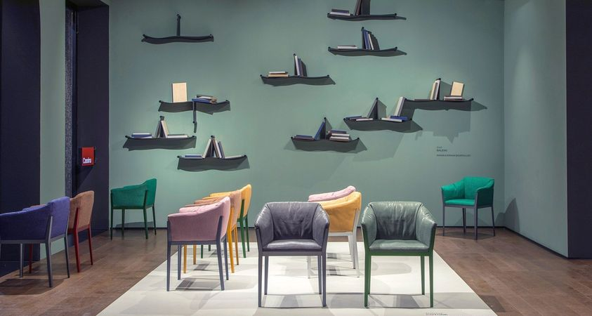 Bouroullec brothers for the first time with Cassina