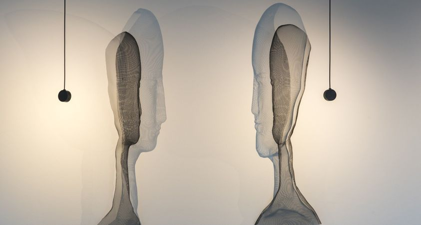 The anthropomorphic lights by Arturo Álvarez