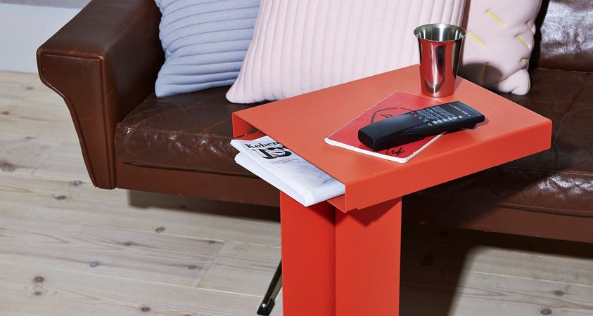 RADAR, a compact side table with a big personality