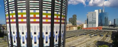 Marazzi for the renovation of the Torre Arcobaleno in Milan