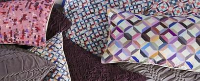 Bold yet feminine geometrics inspires Nitin Goyal London
