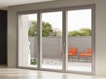 Porta-finestra in alluminio e legno
