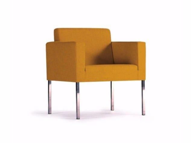 Fabric armchair ÀRTICA | Armchair - SANCAL