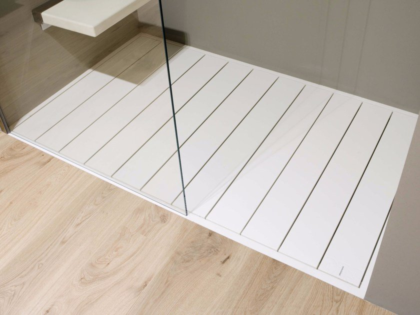 Slatted Corian® shower tray 013 | Shower tray - Antonio Lupi Design®