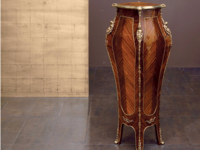 Wooden pedestal 02 | Pedestal - Rozzoni Mobili d'Arte