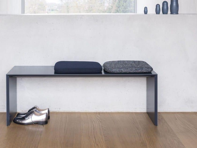 Solid-color rectangular fabric cushion 0685   Cushion by Schönbuch