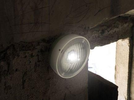 LED polycarbonate wall lamp KIT-11 QUID 110 - Lombardo