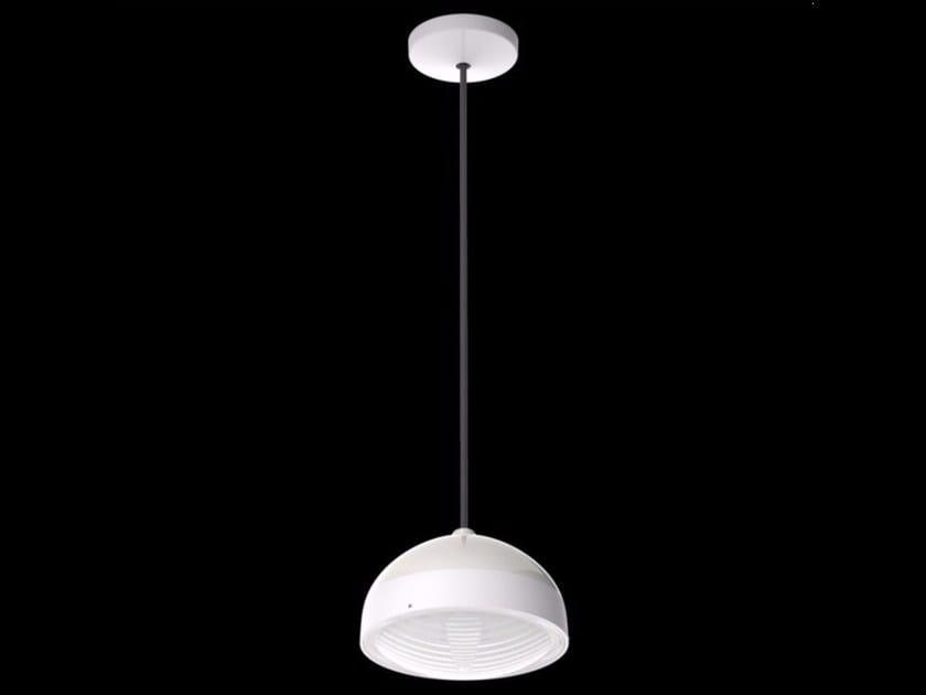 LED polycarbonate pendant lamp KIT-25 QUID 160 - Lombardo