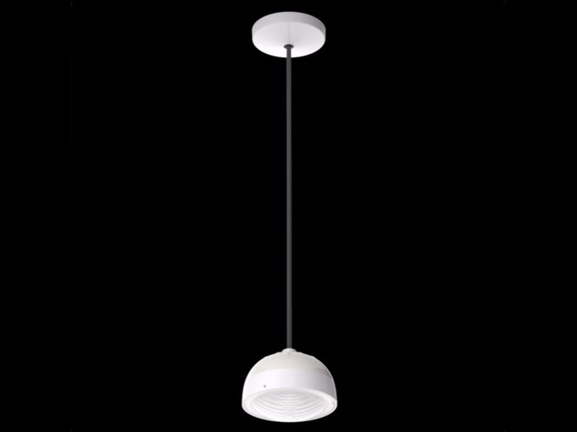 LED polycarbonate pendant lamp KIT-24 QUID 110 by Lombardo