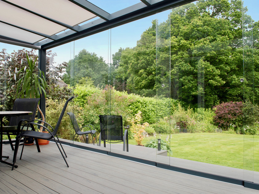 Sliding door Glass sliding system by Gardendreams