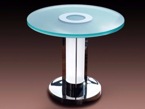 Coffee table with light for living room 1 - Jean Perzel