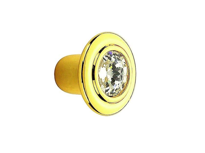 Pomello per mobili in Zamak con cristalli 10 778 | Pomello per mobili - Citterio Giulio