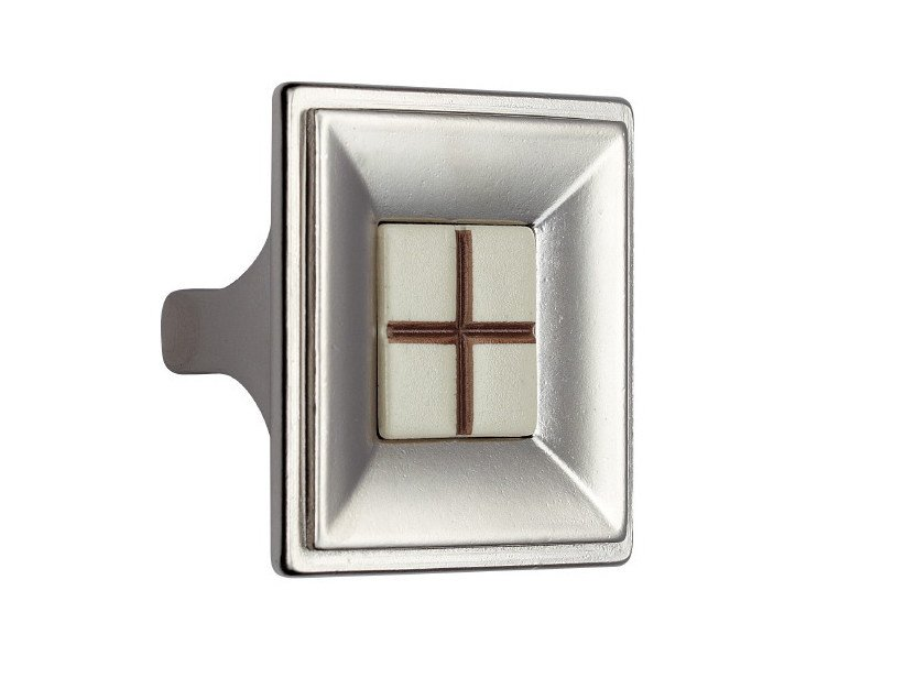 Zamak Furniture knob 10 813 | Furniture knob - Citterio Giulio